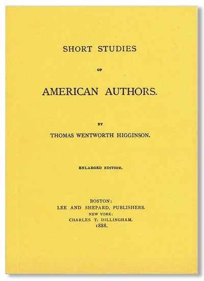 Pottstown, PA: Americanist Press, 1967. Reprint. Limited edition facsimile of the 1888 edition; 200 ...