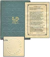 London: Macmillan and Co, 1896. Hardcover. Very Good. Reprint. 24mo. Blue-green cloth gilt. Half-tit...