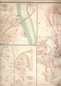 MAP: 4 Maps & 2 Sketches: Topographical Sketch of Fortress Rosecrans Near Murfreesborough,...