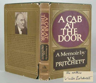 1968. PRITCHETT, V. S. A CAB AT THE DOOR: A MEMOIR. New York: Random House (1968). First edition, fi...