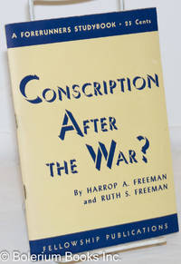 image of Conscription After the War