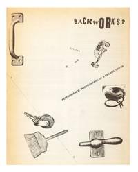 Backworks? Catalogue No. B, $1. Performance: Photographs of a Decade 1959-69