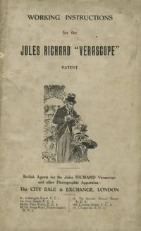 """WORKING INSTRUCTIONS FOR THE JULES RICHARD """"VERASCOPE"""" PATENT"""