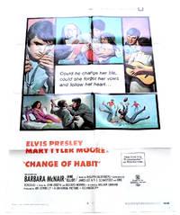 image of Elvis Presley Change of Habit U.S. One Sheet Film Poster 1969