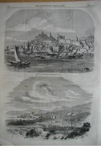 Ancona, in the Papal States. The Emperor Napoleon's Visit to Corsica, View of Bastia.