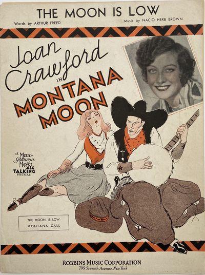 New York: Metro-Goldwyn-Mayer Corp, 1930. Ephemera no binding. Near fine. Nacio Herb BROWN, music.. ...