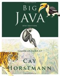 image of Big Java: Compatible with Java 7 and 8