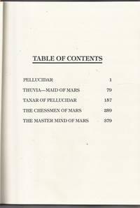 image of Edgar Rice Burroughs Science Fiction Classics: Pellucidar, Thuvia Maid of Mars, Tanar of Pellucidar, The Chessmen of Mars, The Master Mind of Mars