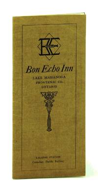 Bon Echo Inn, Lake Massanoga, Frontenac Co. [County], Ontario - Vintage Promotional Brochure for This Famed Ontario Highlands Summer Resort