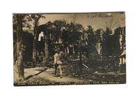 Negro Homes Burned by Rioters Sprinfield Race War Aug-08 by Postcard - 1908