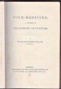 image of Folk Medicine; a chapter in the history of culture