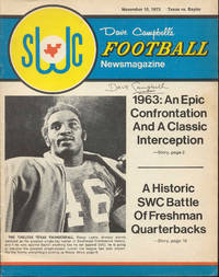 Dave Campbell's Football Newsmagazine (Vol. 1, No. 9, Nov. 10, 1973)
