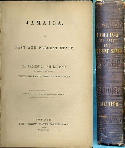 London: John Snow, 1843. First edition. Cloth. Front joint slit but nicely repaired, boards soiled a...