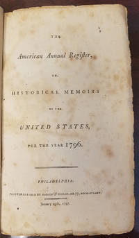 Accusing the Recently Retired Hamilton of Financial Malfeasance Historical Memories of the United States for 1796