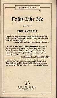 Folks Like Me by  Sam Cornish - Paperback - First Edition - 1993 - from citynightsbooks and Biblio.co.nz