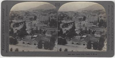 Meadville, PA: Keystone View Company, 1905. Stereoview. Albumen photograph on a curved gray Keystone...