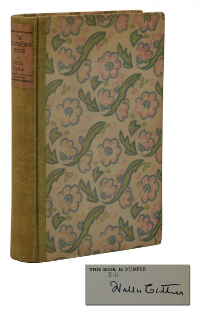 New York: Alfred A. Knopf, 1925. Signed Limited First Edition. Very Good. 283 pp. Signed limited fir...