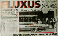 Fluxus Exhibition Poster Museum of Modern Art