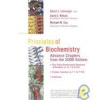 Principles of Biochemistry: Advance Chapters from the 2000 Edition by Albert L. Lehninger - Paperback - 1999-09-08 - from Books Express and Biblio.com