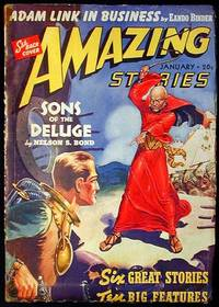 image of Amazing Stories January 1940 Volume 14 Number 1
