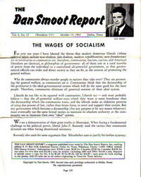 Dan Smoot Report 6 Issues: 1962 to 1968