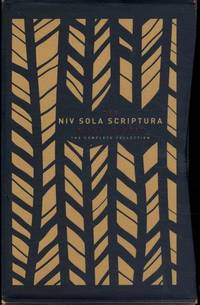 NIV, The Sola Scriptura Bible Project: The Complete Collection, Cloth over Board, Navy/Tan:...
