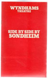 Side By Side By Sondheim - Theatre Programme Wyndhams Theatre 1977