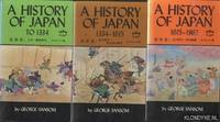 History Of Japan 3 Volumes