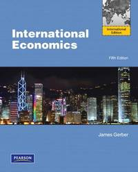 image of International Economics: International Edition