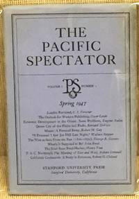 image of The Pacific Spectator, Volume 1, Number 2, Spring 1947