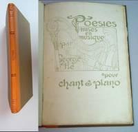 Poesies mises en musique par George Fle pour chant & piano