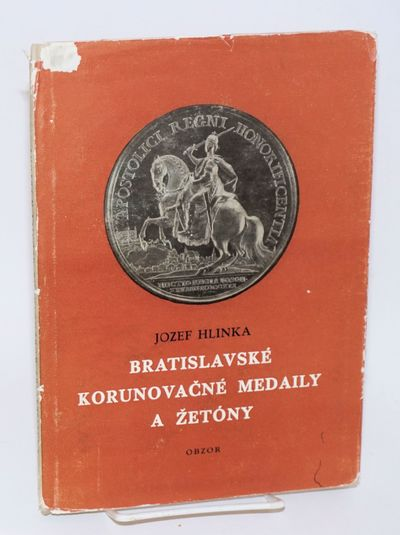 Bratislava: Obzor, 1966. 83 pages, 24 pages of illustrations in black and white; very good hardcover...