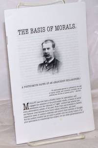 image of The Basis of Morals: A Posthumous Paper of an Anarchist Philosopher