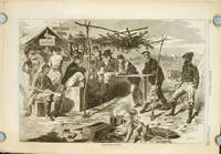 Thanksgiving in Camp.  IN COMPLETE MAGAZINE Harper's Weekly, November 29, 1862