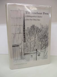 The Stinehour Press: A Bibliographical Checklist of the First Thirty Years by  Roderick (Intro)  David (compiler); STINEHOUR - Hardcover - Limited Edition - 1988 - from Attic Books (SKU: 114962)