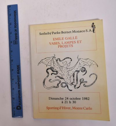 Monte Carlo: Sotheby Parke Bernet Monaco, S.A., 1982. Softcover. G+. Covers are heavily tanned, with...