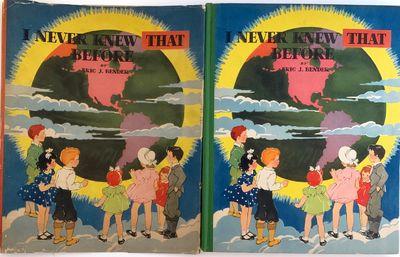 Akron, Ohio: The Saalfield Publishing Company, 1938. Pictorial boards. Very good/very good. Janet La...
