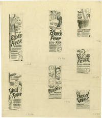 image of Blonde Fever [Blond Fever] (Concept art sketches for advertisements promoting the film's original release)