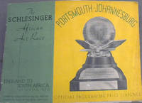 The Schlesinger African Air Race from England to South Africa, September 1936: Official Programme
