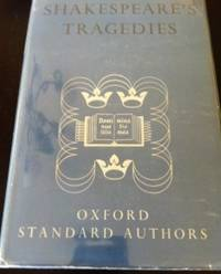 image of Shakespeare's Tragedies [Oxford Standard Authors]