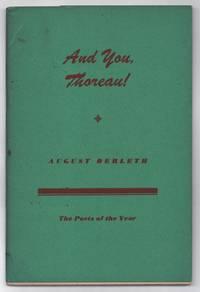 image of And You, Thoreau!