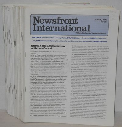 Oakland, CA: Peoples Translation Service, 1982. Thirty-six issues of the magazine, published irregul...