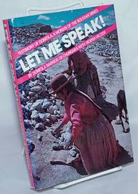 image of Let Me Speak! Testimony of Domitila, a Woman of the Bolivian Mines