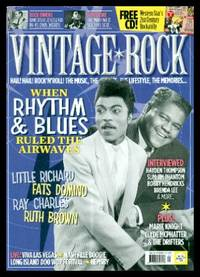 VINTAGE ROCK - Issue 24 - July August 2016 by  Richard (editor) Flynn - Paperback - First Edition - 2016 - from W. Fraser Sandercombe and Biblio.com