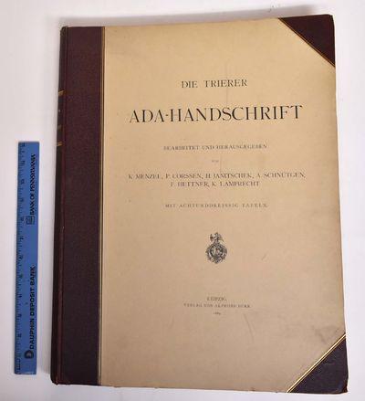 Leipzig: Verlag von Alphons Durr, 1889. Hardcover. Good+ ffep is loose, dust jacket is tattered, lig...