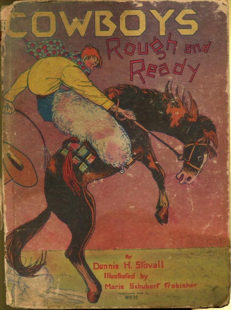 cowboys rough and ready unknown binding by stovall dennis h by dennis h stovall 1929 01 01. Black Bedroom Furniture Sets. Home Design Ideas