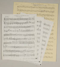 Walking in the Neighborhood for piano solo. Autograph musical manuscript