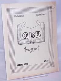 image of GBB: Gay Books Bulletin; vol. 1, #1, Spring 1979