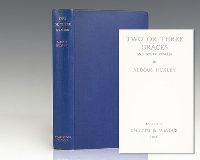 London: Chatto & Windus, 1926. First edition of this early collection of stories by the author of Br...
