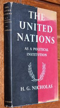 image of THE UNITED NATIONS As A Political Institution